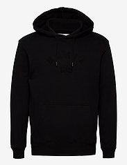 Makia - Brand Hooded Sweatshirt - hoodies - black - 0