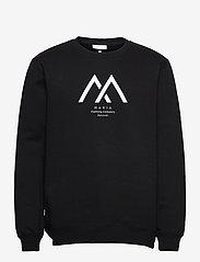 Seafarer Light Sweatshirt - BLACK