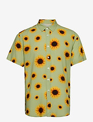 Makia - Common SS Shirt - chemises à carreaux - light green - 0