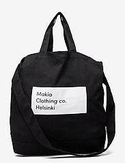 Makia - Pontus Shoulder Tote - shoppers - black - 0