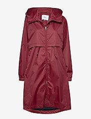 Makia - Den Jacket - manteaux de pluie - ruby - 0