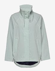 Makia - Leya Jacket - regnkläder - mint - 1