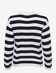 Makia - Willow Knit - trøjer - navy-white - 2