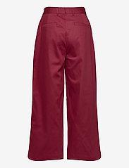 Makia - Gaia Trousers - bukser med brede ben - ruby - 1