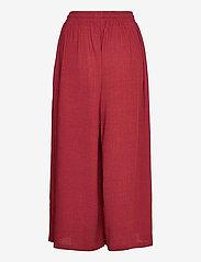 Makia - Geira Pants - bukser med brede ben - ruby - 2