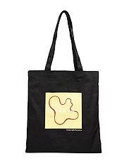 Vase Tote Bag - BLACK