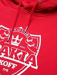 Makia - Shield Hooded Sweatshirt - hoodies - red - 2