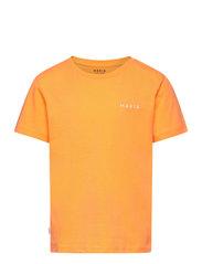 Trim T-Shirt - MARIGOLD