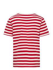 Makia - Verkstad T-Shirt - korte mouwen - red-white - 1