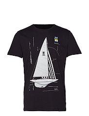 Genoa T-shirt - BLACK