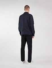 Makia - Hacienda Jacket - wool jackets - navy melange - 4