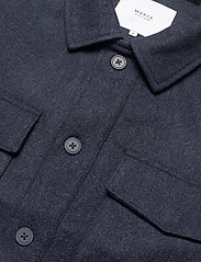 Makia - Hacienda Jacket - wool jackets - navy melange - 5