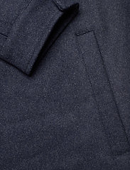 Makia - Hacienda Jacket - wool jackets - navy melange - 6