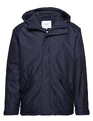 Polar Jacket - NAVY MEL