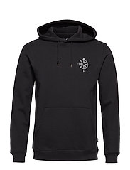 MYSTERY HOODED SWEATSHIRT - BLACK