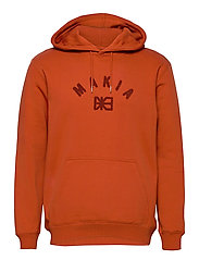 Brand Hooded Sweatshirt - COPPER