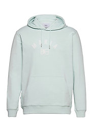Brand Hooded Sweatshirt - MINT