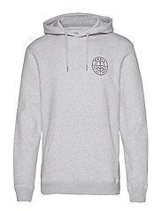 Range Hoooded Sweatshirt - LIGHT GREY