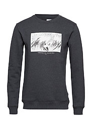 JOURNEY SWEATSHIRT - DARK GREY