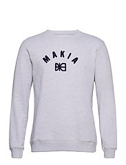 Brand Sweatshirt - LIGHT GREY