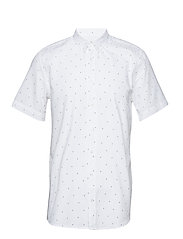 ANCHORS SS SHIRT - WHITE
