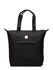 Zip Tote Bag - BLACK