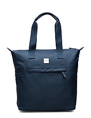 Zip Tote Bag - NAVY