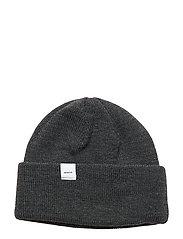 Merino Thin Cap - DARK GREY