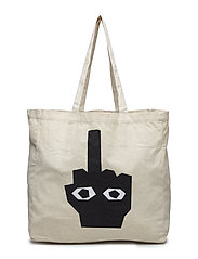 NO OFFENCE DAY TOTE - ECRU