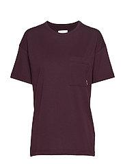 Dusk T-Shirt - WINE
