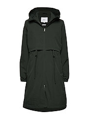 Vuono Coat - DARK GREEN