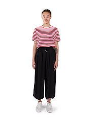 Makia - Geira Pants - bukser med brede ben - black - 0