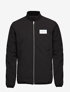 Aalto Quilted Jacket - BLACK