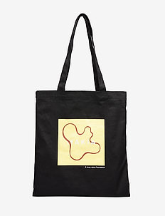 Vase Tote Bag - BLACK