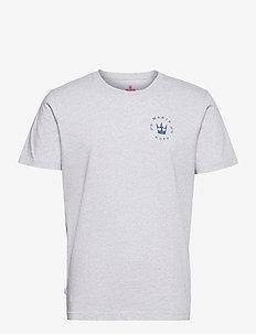 Nikolai T-shirt - perus t-paidat - light grey