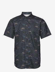 Raven SS Shirt - chemises à manches courtes - dark blue