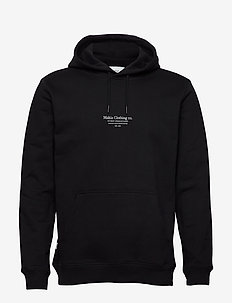 Caught Hooded Sweatshirt - basic sweatshirts - black
