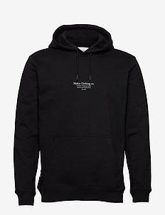Caught Hooded Sweatshirt - podstawowe bluzy - black