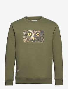 Stare Sweatshirt - swetry - olive