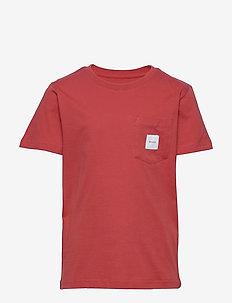 Pocket T-Shirt - krótki rękaw - red