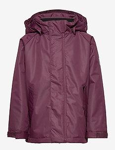 Polar Jacket - wyściełana kurtka - wine