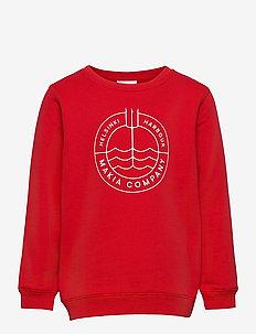 Trident Sweatshirt - sweatshirts - red