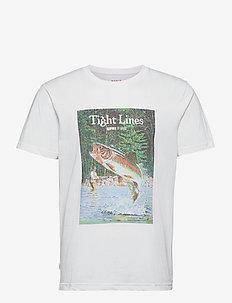 Kneedeep T-Shirt - lyhythihaiset - white