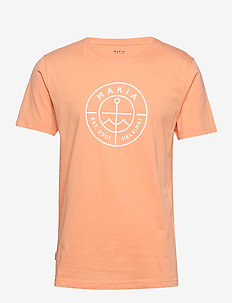 Scope T-Shirt - lyhythihaiset - peach