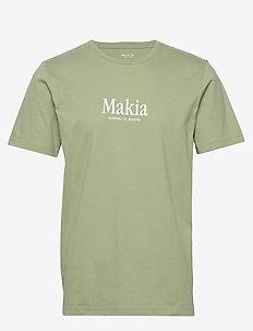 Strait T-Shirt - kortärmade t-shirts - olive