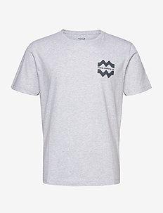 Laine T-Shirt - perus t-paidat - light grey