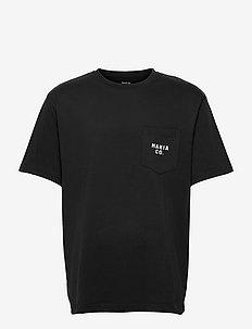 Torp T-Shirt - basic t-shirts - black
