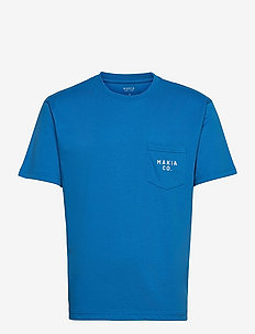 Torp T-Shirt - basic t-shirts - french blue