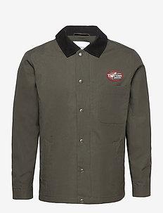 Minnow jacket - kevyet takit - dark green