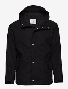 RAGLAN JACKET - BLACK